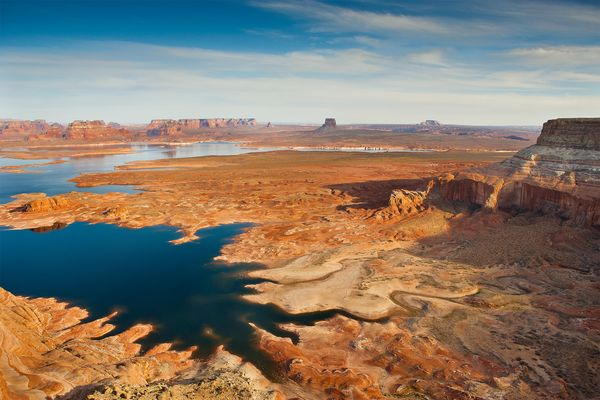 Truth is Lake Powell Level is really low and getting lower.