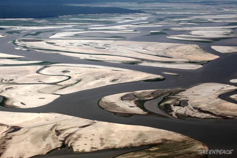 Amazon River Basin Cracked Earth 2013
