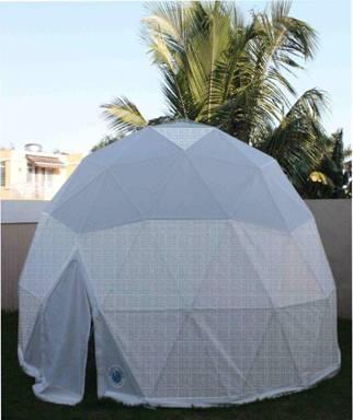 Dome GreenhousesBackyard growing Magic