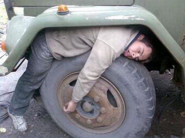 With Sleep Apnea People can sleep Anywhere