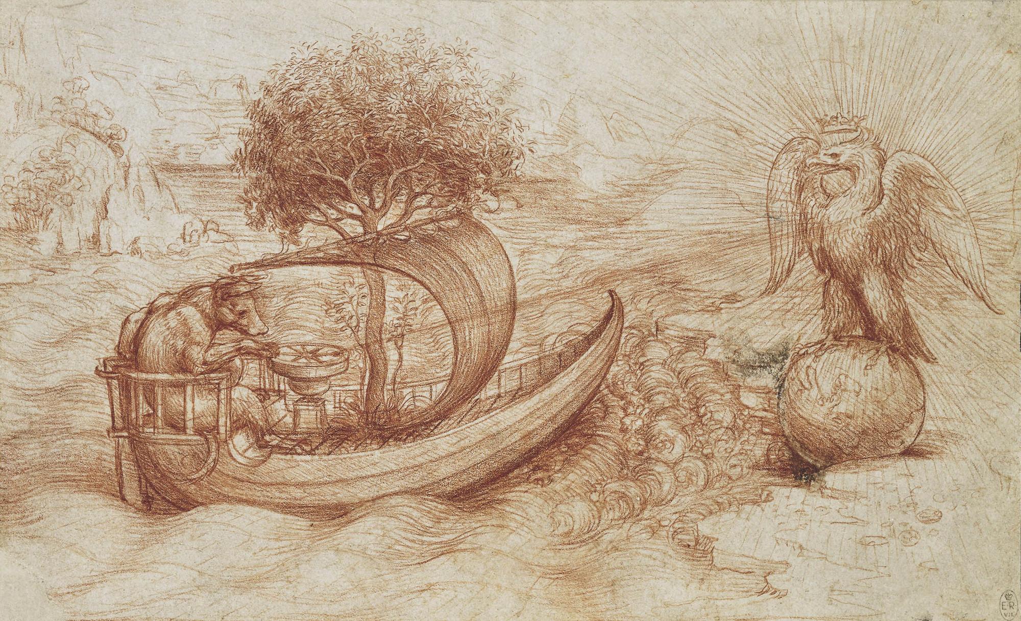 Leonardo da Vinci Drawing