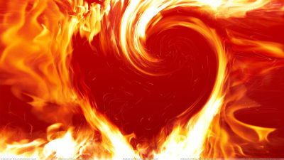 Love is a burning