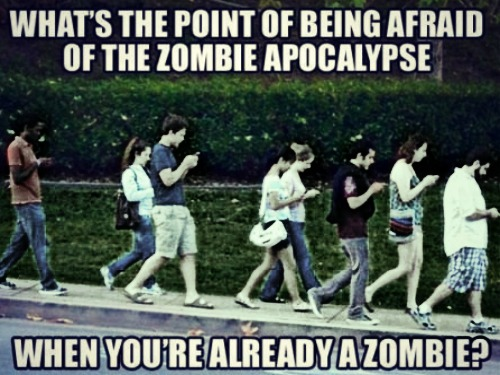 Are you a zombie too?