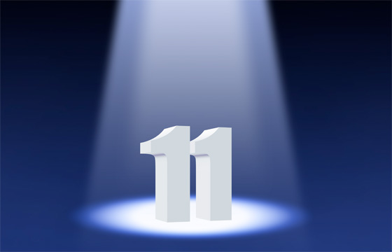11 >> The Number Eleven Gateway To The Devine Energy Of Spirit